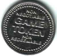 Five C's Mini Golf Silver Token Reverse