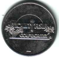 Mount Asia Golf & Games Silver Token Obverse