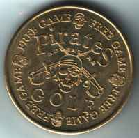 Pirates Adventure Golf Free Game Gold Token Reverse