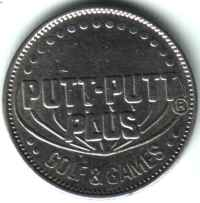 Putt-Putt Plus Golf & Games Silver Token Obverse