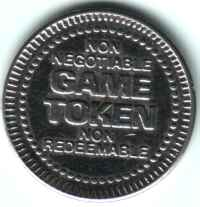 Wonderland Golf and Games Spokane WA Silver Token Reverse